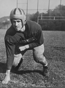 Dad was a sports fan and a former athlete. He played football at Langley High School in the Pittsburgh area and at Penn State University, and he ran track.
